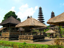 Temple in Taman Ayun, Bali indonesia Royalty Free Stock Photos