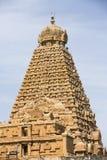 Temple Tami Nadu India de Tanjore Images libres de droits