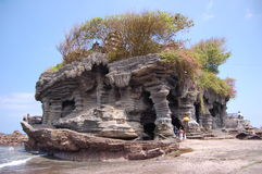 A Temple at Tanah Lot Bali Royalty Free Stock Photo