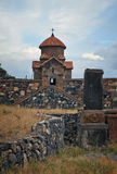 Temple of the 7th century, Armenia Stock Photos