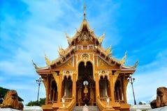 Temple thaï dans la province de khonkane Images libres de droits