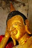 Temple thaï dans le ROI et la province Images libres de droits