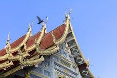 Temple thaïlandais de style en Thaïlande du nord Photo libre de droits