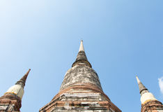 Temple thaïlandais Watyaichaimongkol Photo stock