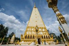 Temple Thaïlande dans Ubonratchatani image stock