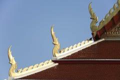temple Thaïlande thaïe de toit de Bangkok Photos stock