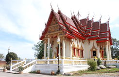 Temple of Thai arts. In public Thailand Royalty Free Stock Photo