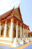 Temple of Thai arts Stock Image
