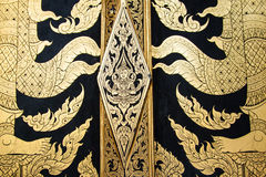 Temple thai doors Stock Photos