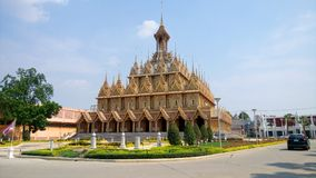 Temple thai Royalty Free Stock Image