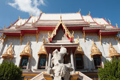 Temple thai Royalty Free Stock Photo