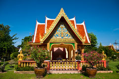 Temple of Thailand. This temple is locate at south of phuket Thailand and it's beautiful most popular go to there for here Stock Images