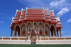 Temple in Thailand. The buddha temple in Thailand Royalty Free Stock Photo