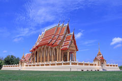 Temple in Thailand. The buddha temple in Thailand Stock Photos