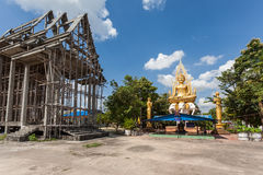 Temple from Thailand. An unfinished temple not far from Bangkok Royalty Free Stock Images