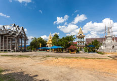 Temple from Thailand. An unfinished temple not far from Bangkok Stock Photography
