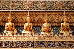 Art in Wat Phra Si Rattana Satsadaram  Royalty Free Stock Image