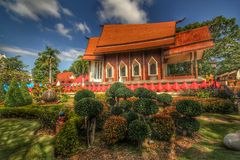 Temple. Of Thailand Royalty Free Stock Photography