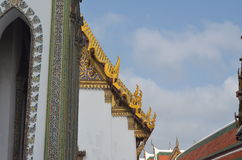 Temple. In Thailand royalty free stock photo