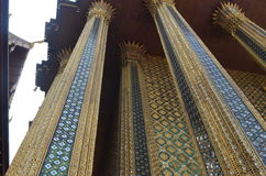 Temple. In Thailand royalty free stock photography