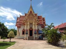 Temple. Thailand beautiful Royalty Free Stock Photos