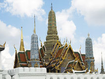 Temple Thailand. Beautiful temple in Bangkok as a tourist destination Stock Images