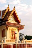 Temple in Thailand. Beautiful Thai Temple. Marble Temple Royalty Free Stock Images