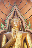Temple in Thailand. Beautyful Temple in Kanchanburi - Thailand Royalty Free Stock Photo
