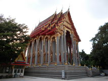The Temple in Thailand stock photo