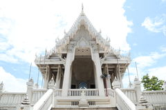 Temple Thailand. With blue sky Royalty Free Stock Image