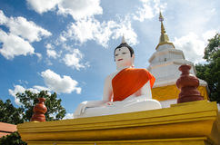 Temple thailand. Buddha image in temple Thailand Royalty Free Stock Image