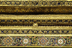 Temple thailand buddhist bangkok architecture art Royalty Free Stock Photo