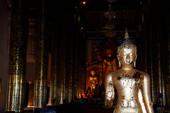 Temple in Thailand. Royalty Free Stock Photo