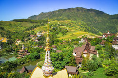 Temple in Thailand Stock Photo