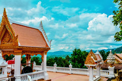 Temple Thailand landscape Royalty Free Stock Photo