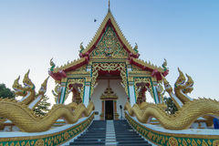 Temple in Thailand. Mahasarn temple Royalty Free Stock Photo