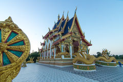 Temple in Thailand. Mahasarn temple Stock Photo