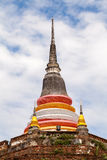 Temple in Thailand is named Wat Ratchaburana,Phitsanulok Stock Images