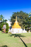 Temple in Thailand near Mae Hon Song Stock Images