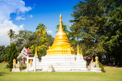 Temple in Thailand near Mae Hon Song Royalty Free Stock Photo
