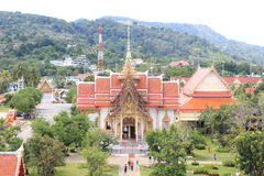 Temple in Thailand. A Temple in South Thailand Royalty Free Stock Photo