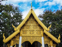 Temple in Thailand. Thai traditional architecture Stock Photography