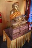 Temple in Thailand There is a beautiful Buddha. Antique Wood Carving. Wat Thai Samakkhi, Mae Sot District, Tak Province. Temple in Thailand There is a beautiful Stock Photos