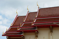 Temple. In  Thailand top  Xtower  Xwa Stock Photos