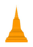 Temple in Thailand. Traditional Thai Architecture. Stock Image