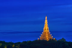 Temple in Thailand of travel Royalty Free Stock Photography