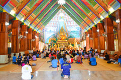 In the temple thailand Royalty Free Stock Image