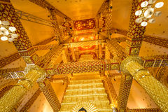 Temple Thailand in Ubonratchatani. Wat Pratat Nongbou ,Beautiful temple in Ubonratchatani ,Thailand Travel Stock Image