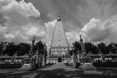 Temple Thailand in Ubonratchatani. Wat Pratat Nongbou ,Beautiful temple in Ubonratchatani ,Thailand Travel Stock Photography