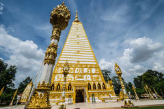 Temple Thailand in Ubonratchatani. Wat Pratat Nongbou ,Beautiful temple in Ubonratchatani ,Thailand Travel Stock Images